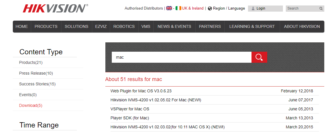 HikVision's latest Mac plugins | IP CCTV Forum for IP Video, network
