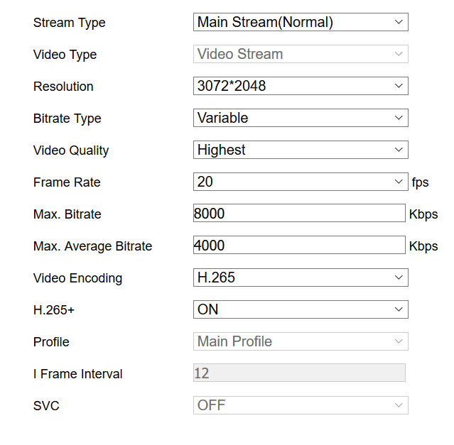 Hikvision night settings - motions blur and ghosting