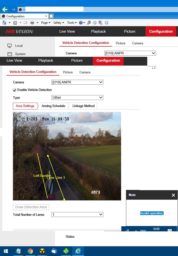 Hikvision DS-2CD4A25FWD-IZS ANPR Help  | IP CCTV Forum for