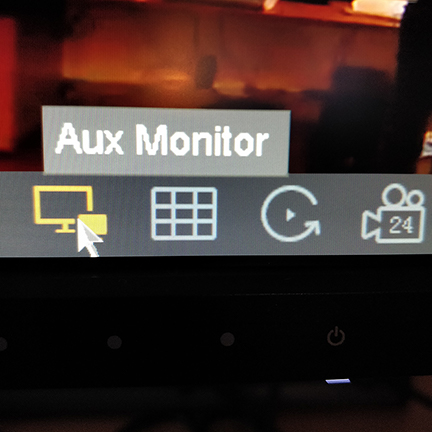 My Hikvision NVR has both HDMI & VGA connections, can I connect two