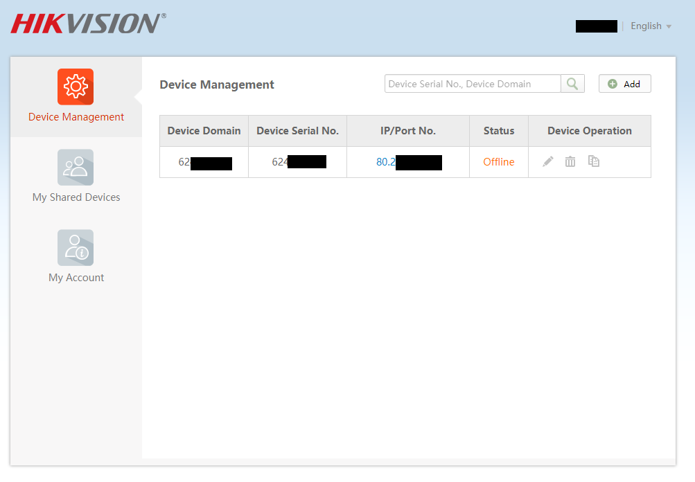 Can't access HikVision after password change | IP CCTV Forum