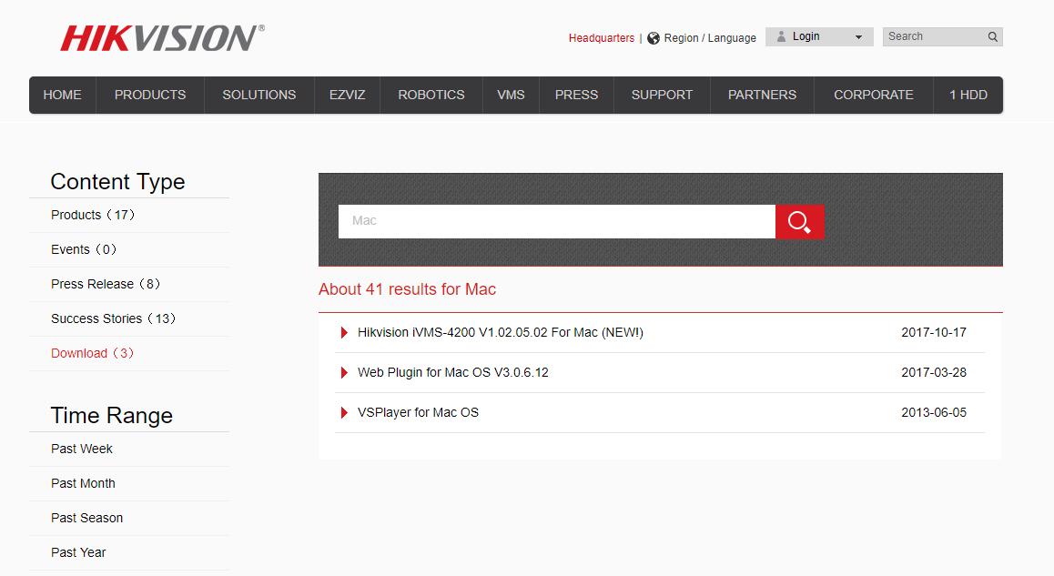 HikVision's latest Mac plugins | IP CCTV Forum for IP Video
