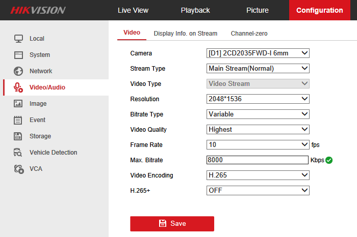 hikvision ip cameras resolution | IP CCTV Forum for IP Video