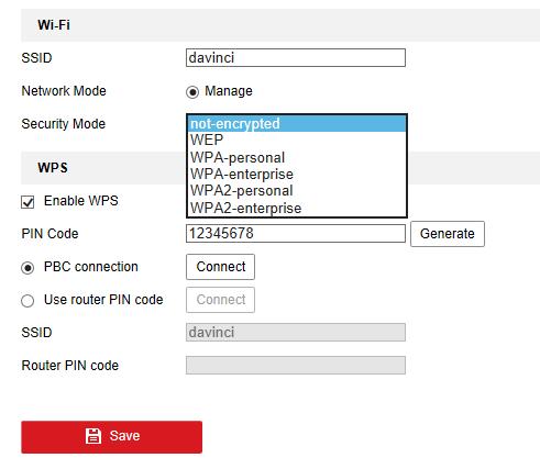 Do HikVision wireless cameras support WPA Enterprise? | IP CCTV