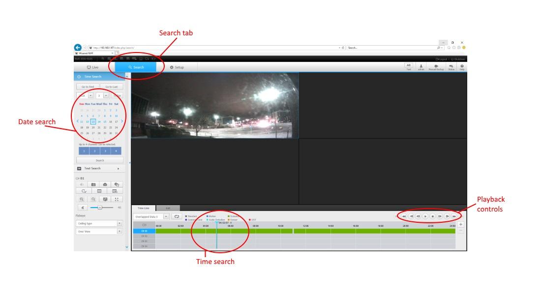 Wisenet NVR WebViewer | IP CCTV Forum for IP Video, network cameras