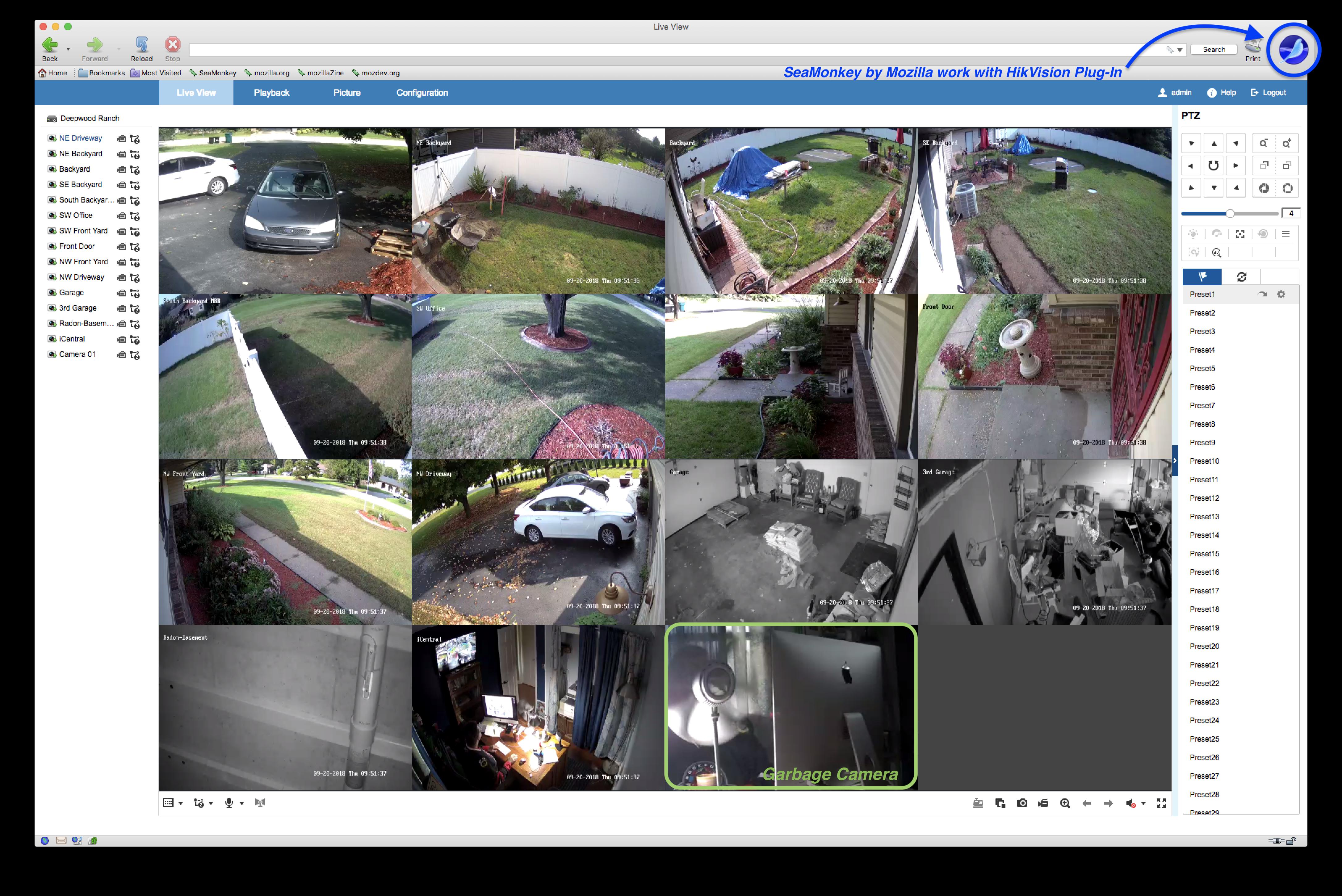 Apple Safari 12 and Hikvision cameras | IP CCTV Forum for IP Video