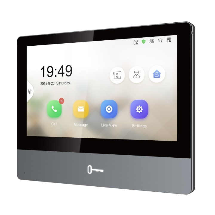Hikvision Ds Kh8350 Wte1 Video Intercom Ultra Indoor