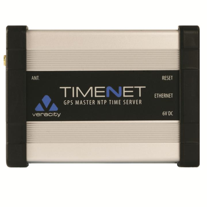 Veracity Timenet Gps Master Ntp Time Server Antenna And