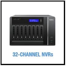 32-Channel NVRs