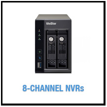 8-Channel NVRs