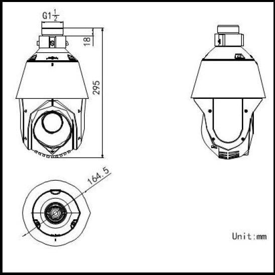 Hikvision DS-2DE4220IW-D 2MP H.265 20X Network IR PTZ Dome Camera