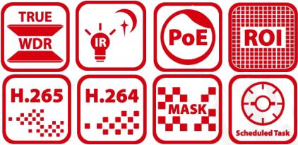 DS-2DE4425IW-DE Features