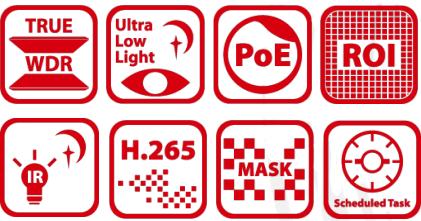 DS-2DE4A425IW-DE Features