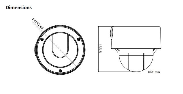 DS-2CD4D26FWD-IZ(S)  2.0 MP Ultra Low Light Smart Dome Camera