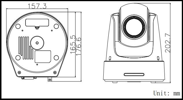 Hikvision DS-2DF5220S-DE4-W Series 2 Megapixel Network PTZ Dome Camera