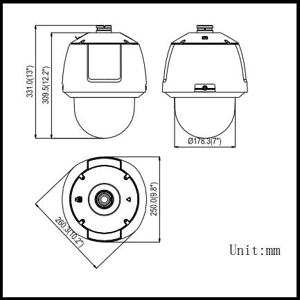DS-2DF6336V-AEL  3MP High Frame Rate Smart  PTZ Camera