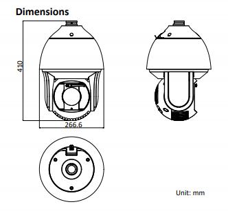 8236IX-AEL dimensions