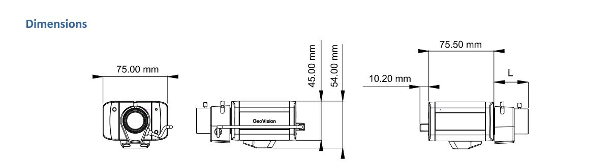 BX2700 Dimensions