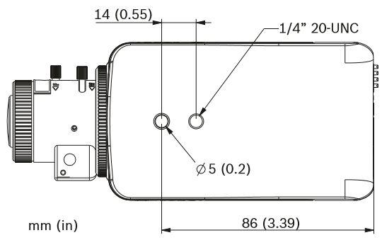 Bosch NBN-50022-V3 Dimensions