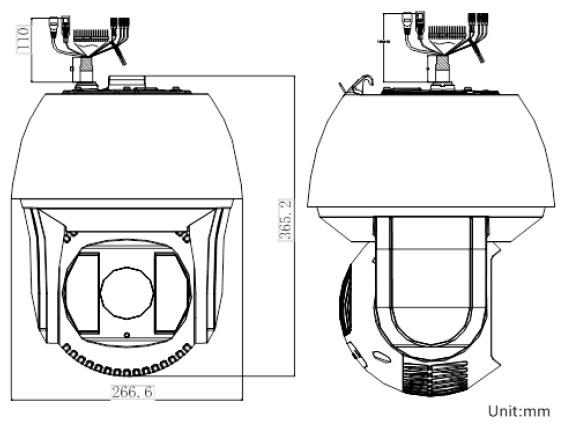 DS-2DF8236I-AEL Dimensions