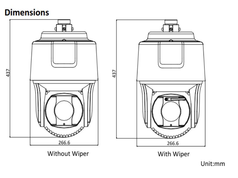 Hikvision DS-2DF8225IH-AEL DarkfighterX 2MP Speed Dome Camera