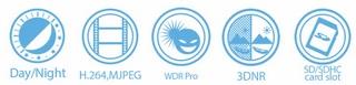 Vivotek FD8137H-F3 1MP Fixed Dome Network Camera