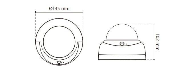 Vivotek FD8167 2MP Fixed Dome Network Camera