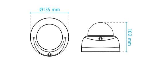 FD816BA-HT dimensions