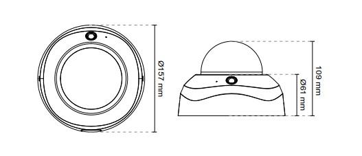 Vivotek FD8173-H 3MP Fixed Dome Network Camera