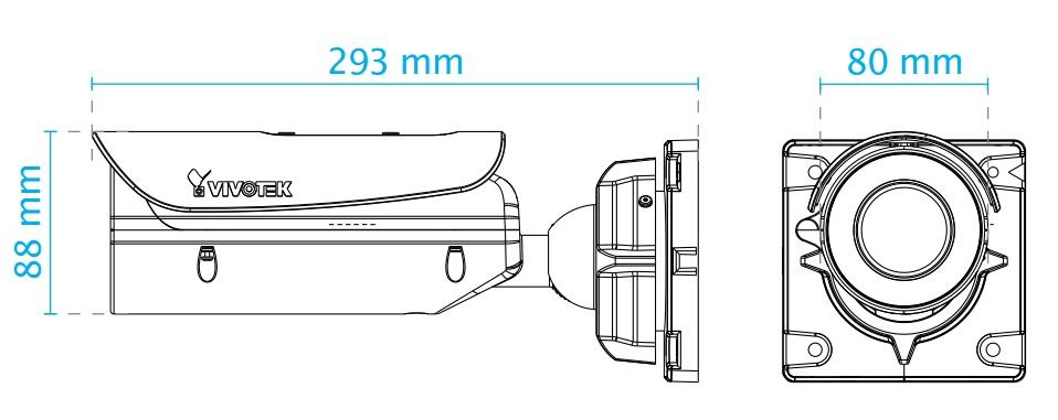 IB836BA-EHT dimensions