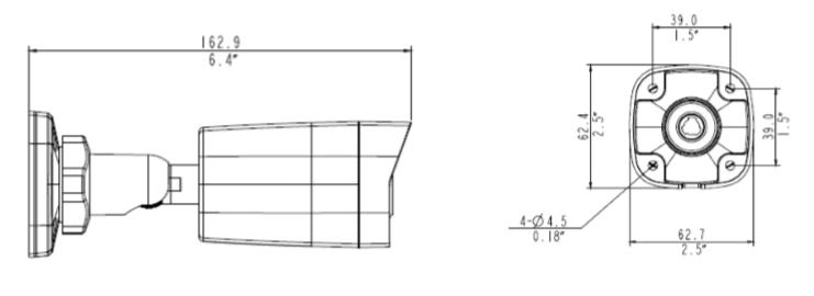 GV-ABL2701 dimensions