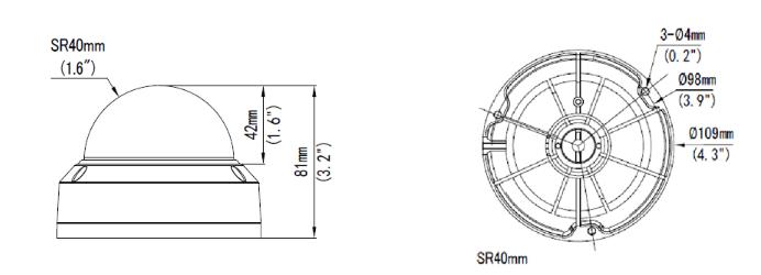 GV-ADR2701 dimensions