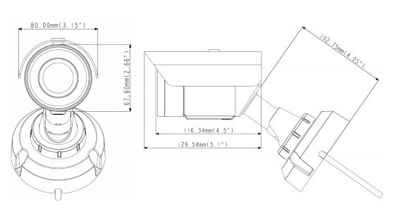 GV-EBL2702 dimensions