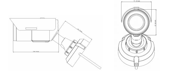 GVL-EBL4711 dimensions
