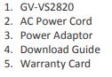 GV-VS2820
