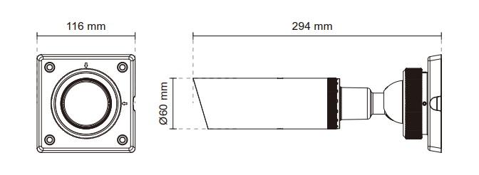 Vivotek IB8354-C 1.3MP Bullet Network Camera