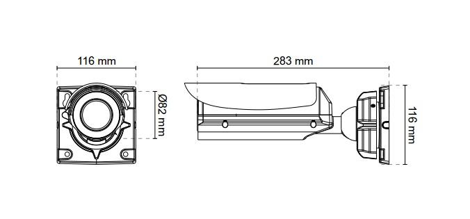 Vivotek IB8367-R 2MP Bullet Network Camera