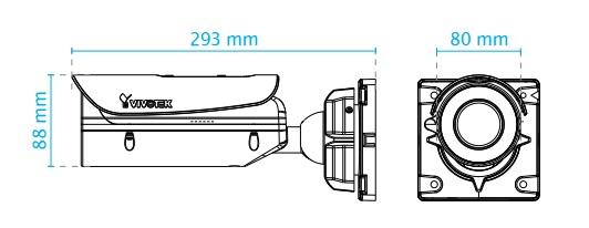 IB836BA-HF3 dimensions