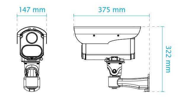 IZ9361-EH dimensions