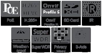 4K Pro Bullet Features