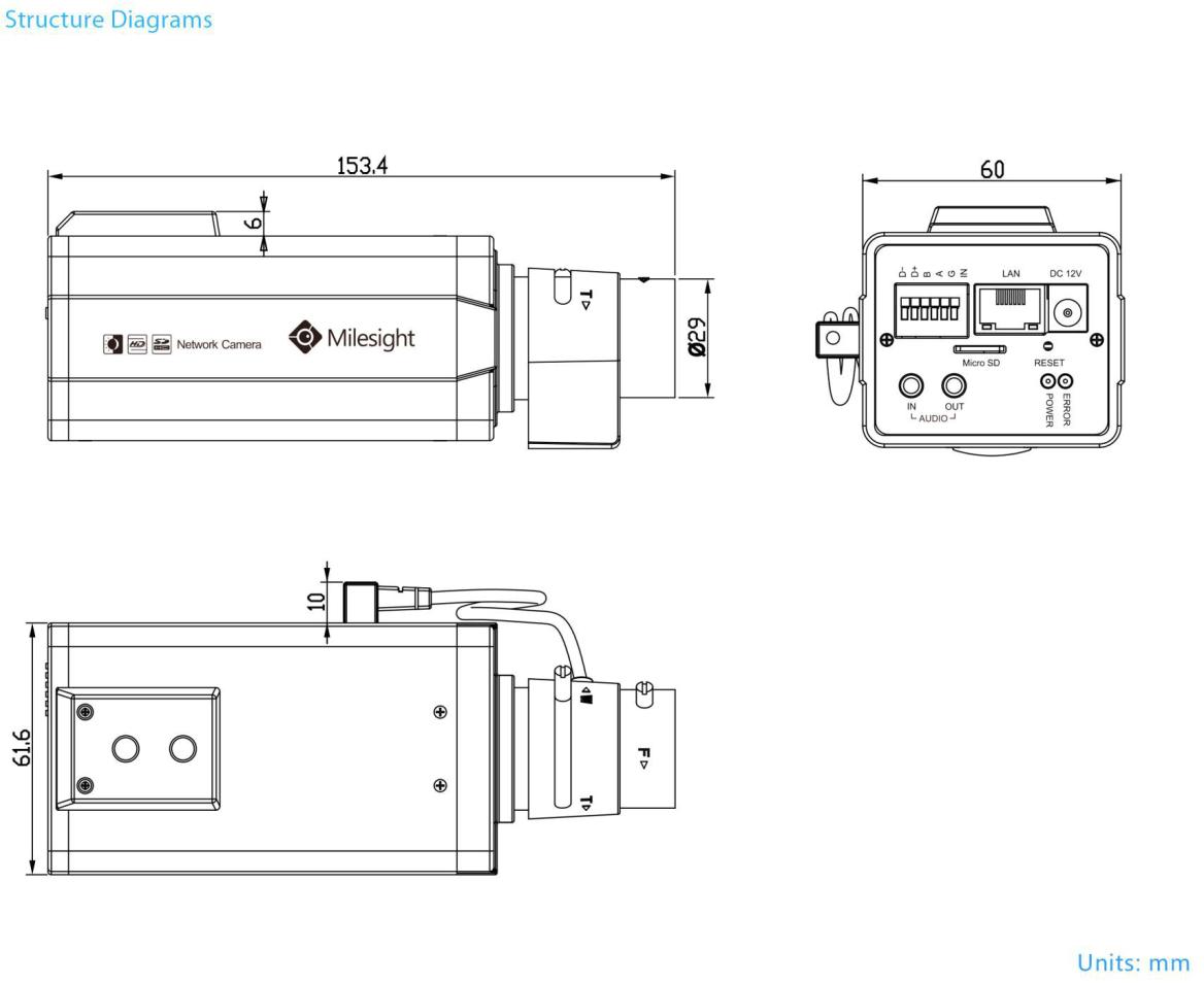 Milesight Pro Box Dimensions