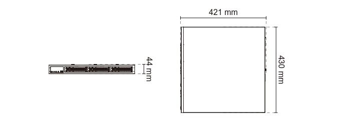 Vivotek NR8401 16 Channel Rackmount Network Video Recorder