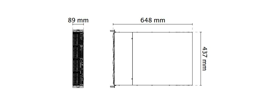 NR9581 dimensions