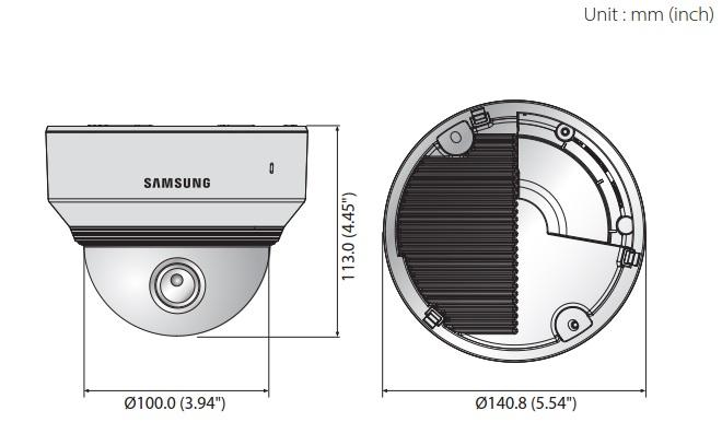PND-9080R dimensions