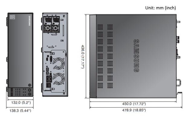 PRN-4011 dimensions