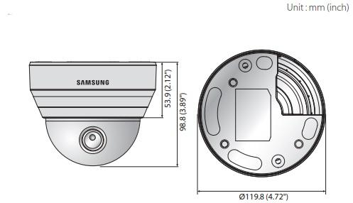 QND-6070R dimensions