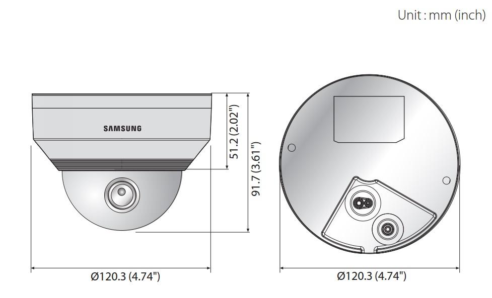 QNV-6010R dimensions