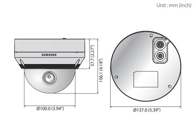 QNV-6070R dimensions