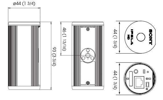 SNC-CH110 dimensions