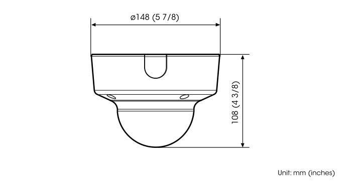 SNC-EM631 dimensions
